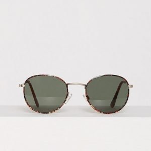 Jack & Jones Jacbrad Sunglasses Aurinkolasit Tummanruskea