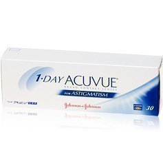 Johnson & Johnson 1-Day Acuvue for Astigmatism tooriset linssit