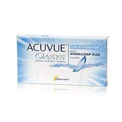 Johnson & Johnson Acuvue Oasys for Astigmatism tooriset linssit