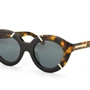 Karen Walker Eyewear KW Flowerpatch Tortoise Black Aurinkolasit