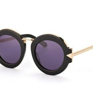 Karen Walker Eyewear KW Maze Black Gold Aurinkolasit