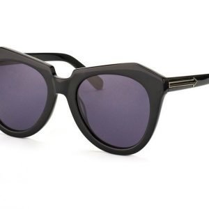 Karen Walker Eyewear KW Number One Black Aurinkolasit