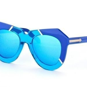 Karen Walker Eyewear KW One Splash Sea Blue Aurinkolasit