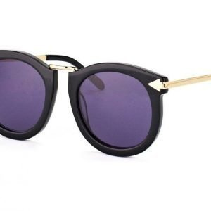 Karen Walker Eyewear KW Super Lunar Black with Gold Aurinkolasit