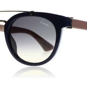 Lanvin Paris SLN674M Blue/Beige 0V15 50 SLN674M 0V15 Sininen-beige Aurinkolasit