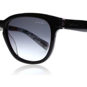 Lanvin SLN625 0APA Musta-printti Aurinkolasit