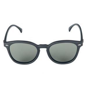 Le Specs Bandwagon Black Rubber aurinkolasit