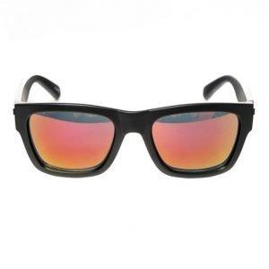 Le Specs Bowie Matte Black Mirror aurinkolasit