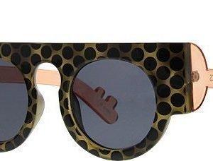 Le Specs Craig & Karl Houdini Gloss Polka Tortoise aurinkolasit