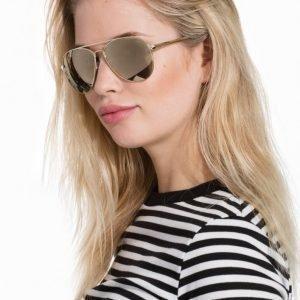 Le Specs Drop Top Aurinkolasit Kulta