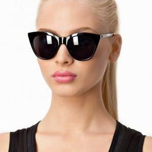 Le Specs Halfmoon Magic Aurinkolasit Musta