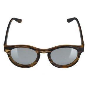 Le Specs Hey Macarena Matte Streaky Tortoise aurinkolasit