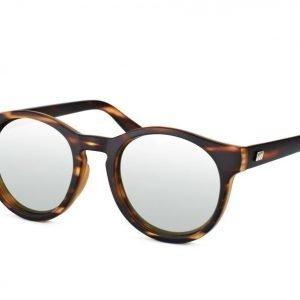 Le Specs Hey Macarena Matte Tort w. silver Revo mirror aurinkolasit