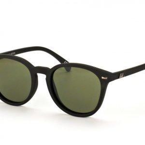 Le Specs LS Bandwagon Black Rubber aurinkolasit
