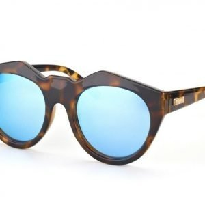 Le Specs LS Neo noir-tort w ice blue mirror aurinkolasit