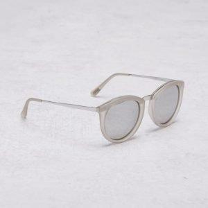 Le Specs No Smirking Ash Rubber/Silver aurinkolasit