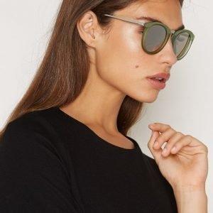 Le Specs No Smirking Aurinkolasit Olive