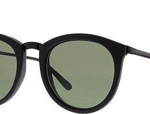 Le Specs No Smirking-Black Rubber aurinkolasit