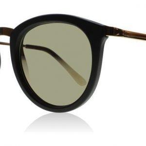 Le Specs No Smirking Musta-kulta Aurinkolasit