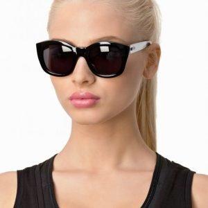 Le Specs Runaways Aurinkolasit Musta