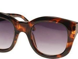 Le Specs Runaways Brown aurinkolasit