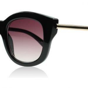 Le Specs Runaways Luxe Musta Aurinkolasit