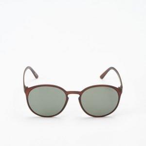 Le Specs Swizzle Matte Copper Khaki Lens aurinkolasit