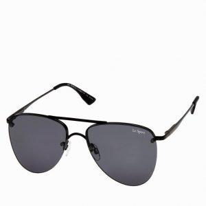 Le Specs The Prince Aurinkolasit Musta