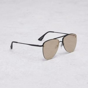 Le Specs The Prince Black Matte/Gold aurinkolasit