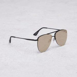 Le Specs The Prince Black Matte/Gold aurinkolasit