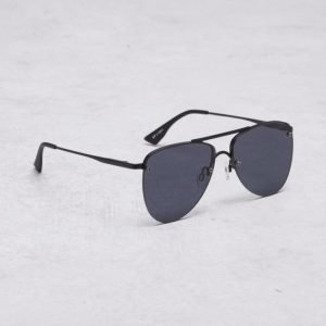 Le Specs The Prince Black Matte/Smoke Mono aurinkolasit