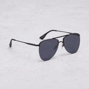 Le Specs The Prince Black Matte/Smoke Mono aurinkolasit