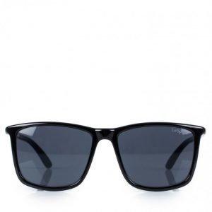 Le Specs Tweedledum Aurinkolasit Musta