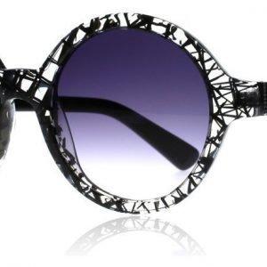 Lennox Azulai musta Crystal Aurinkolasit