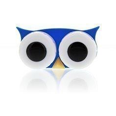 LensWay Lens Case Owl Blue