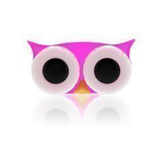 LensWay Lens Case Owl Pink