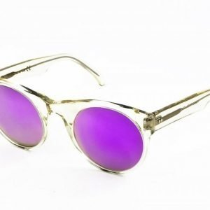 Lunettes Kollektion LK Tabula Rasa-champaign purple mirror aurinkolasit