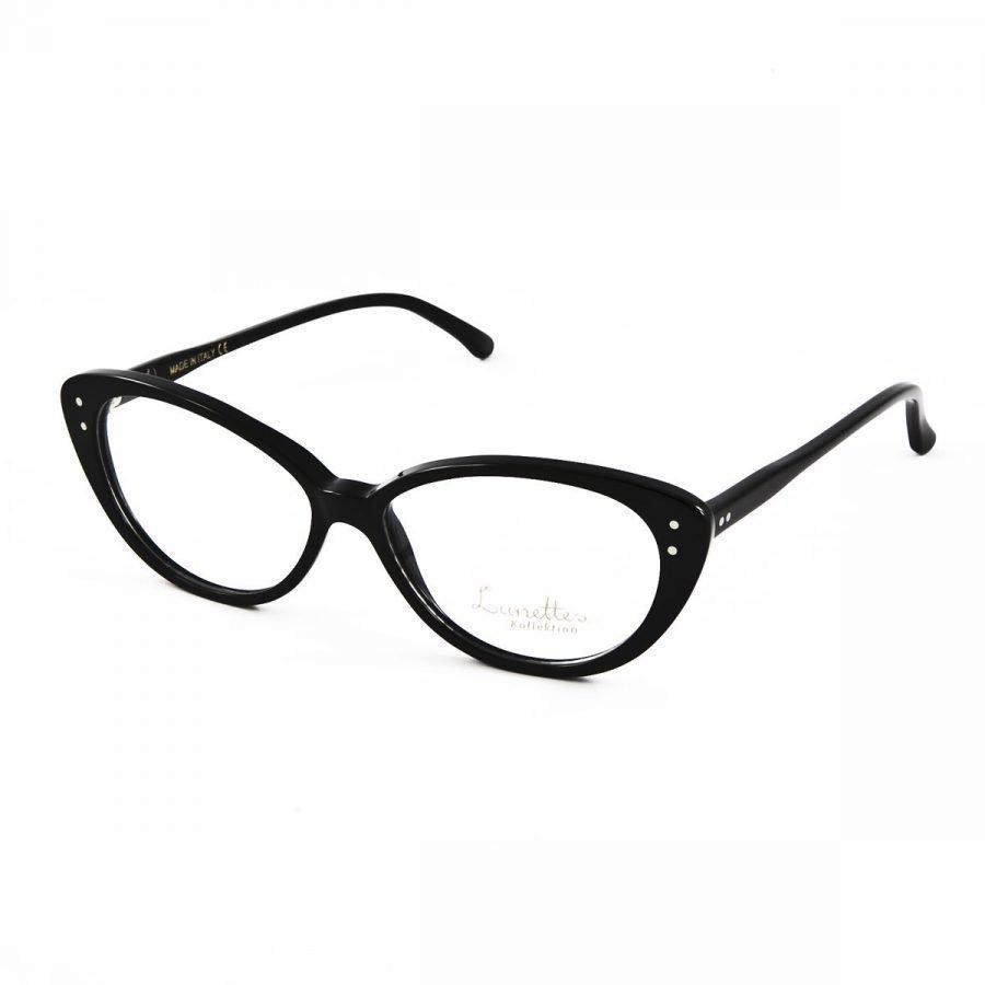 Lunettes Kollektion LK fräuleinwunder-black silmälasit