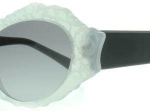 Marni 230 MA230 Valkoinen Opaliini Musta Aurinkolasit