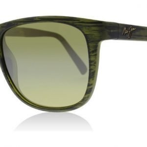 Maui Jim HT740-15CM Matte Green Matta vihreä raidallinen Aurinkolasit