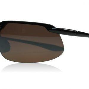 Maui Jim Kanaha H409-02 Kiiltävä musta Aurinkolasit