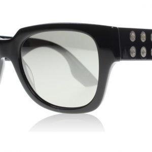 McQ 0020S 002 Musta Aurinkolasit