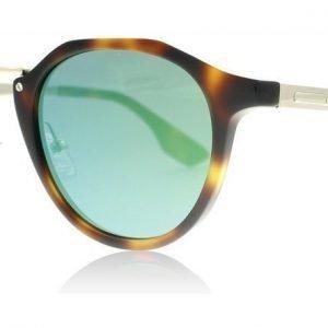 McQ 0036S 002 Havanna-kulta-vihreä Aurinkolasit