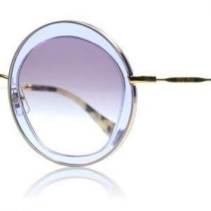 Miu Miu 50QS TIF4W1 Violetti Aurinkolasit