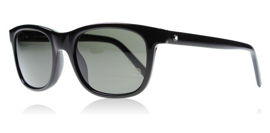 Mont Blanc 507S 507 01A Musta Aurinkolasit