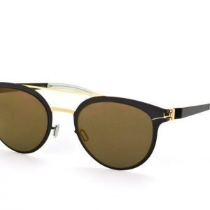 Mykita Decades DASH Gold Jet Black Aurinkolasit