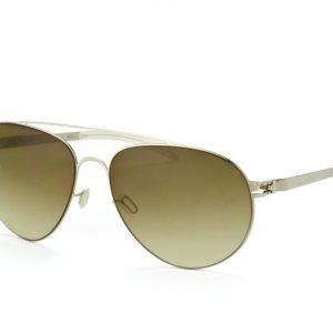 Mykita no. 1 sun CARTER Shiny Silver aurinkolasit