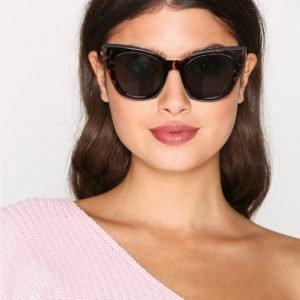 New Look Cat Eye Sunglasses Aurinkolasit Chocolate