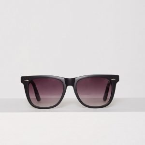 New Look Square Sunglasses Aurinkolasit Musta