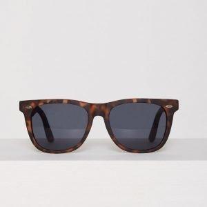 New Look Square Sunglasses Aurinkolasit Ruskea